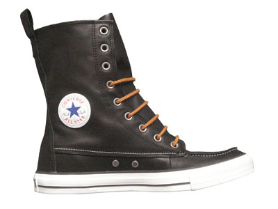 Converse Chuck Taylor All Star Classic Boot XHi Leather Black (125649C)