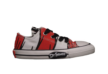 Converse Chuck Taylor All Star Infants Lo Top Dr. Seuss