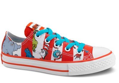 Cat In The Hat Converse Toddler