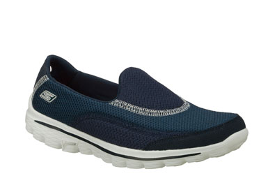 Skechers Womens Go Walk 2 Navy 13590NVY